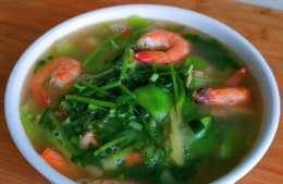 絲瓜和大蝦一起做,補鐵,補鈣,簡單家常,天天吃不夠,真香