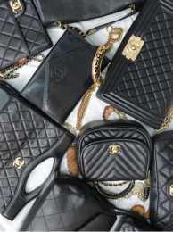 chanel香奈兒包包回收價格 實拍這5支黑色chanel