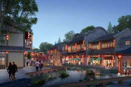 """湖北再添""""古鎮"""",歷時2年,耗資80億,將於今年10月開放"""