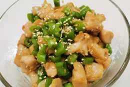 清香麻辣尖椒雞,操作簡單特好吃,色香味美滋味齊
