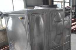 關於不鏽鋼水箱的除錯於安裝分析