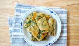 韭菜盒子最快速的做法,不發麵不揉麵,個個薄皮大餡,酥脆又好吃