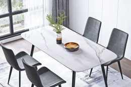 【設計案例】巖板餐桌,是如今家居行業中最為火爆的產品之一之一!
